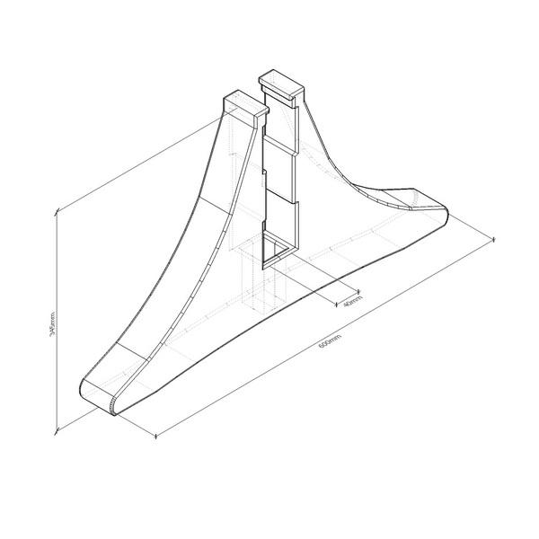 Подставка универсальная пластиковая A600