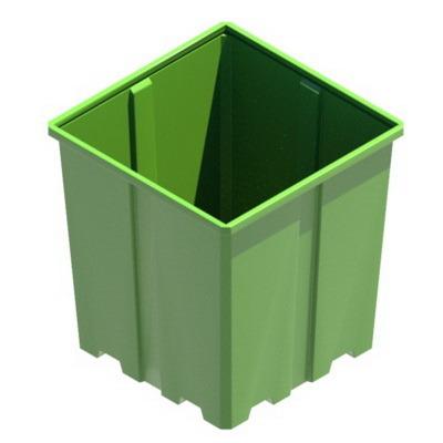 универсальный контейнер, купель, пластиковая емкость, бак для воды, бочка для дизельного топлива