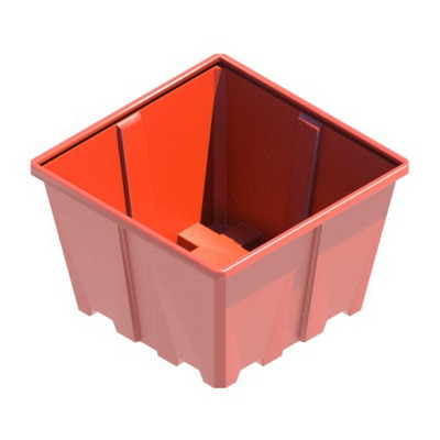 пластиковая емкость универсальный контейнер, пищевой контейнер мусорный бак