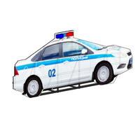 Муляжи автомобилей и инспекторов ДПС для установки на обочине дороги