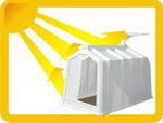 Пластиковый домик для теленка Пласто