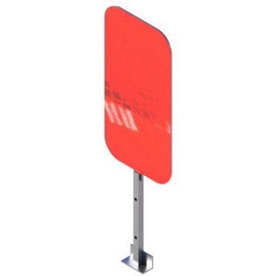 сигнальный флажок для дорожного ограждения