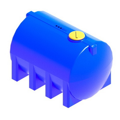пластиковая емкость горизонтальная H5000
