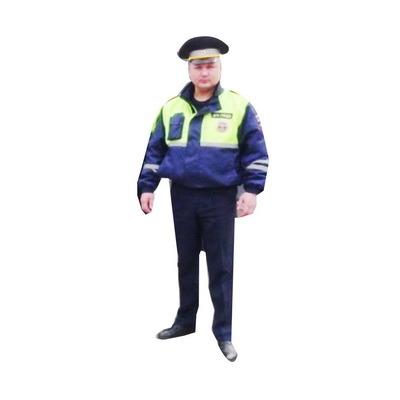 пМуляжи автомобилей и инспекторов ДПС для установки на обочине дороги