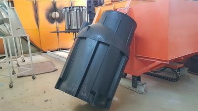 кессон к1500 для скважины, пластиковая емкость, бак для воды, бочка для дизельного топлива