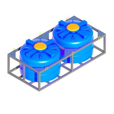 пластиковая емкость вертикальная кассета емкостей