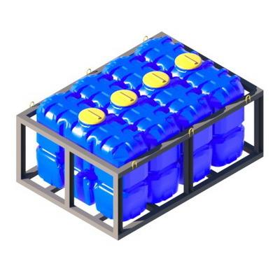 Кассеты из емкостей, пластиковые емкости в кассетах