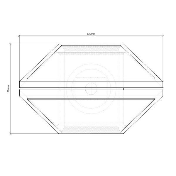 КД-5Р катафот световозвращающий ГОСТ 50971