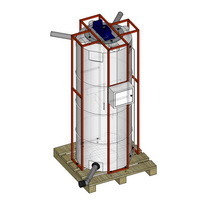 мешалка емкость пластиковая, бак для дизельного топлива, бочка для воды