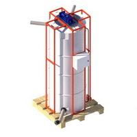 мешалка M750 пластиковая емкость, бак для воды, бочка для дизельного топлива