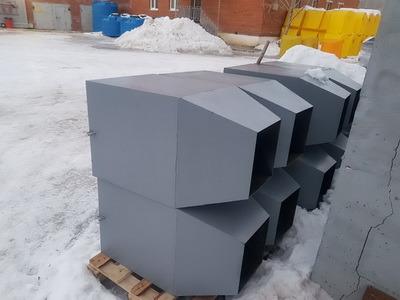 Гаситель скорости для пластикового строительного мусоросброса