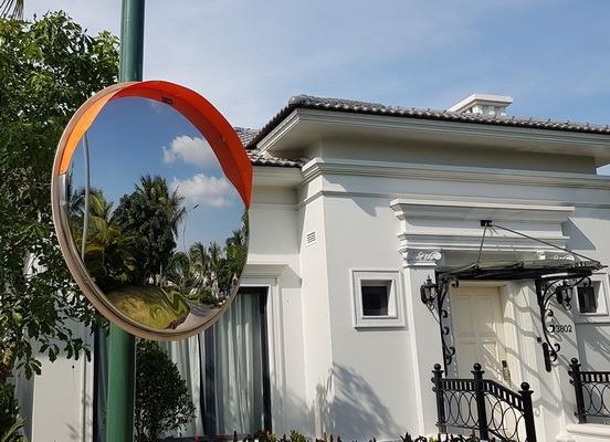 Зеркала обзорные сферические Д=600мм, Д=800мм, Д=1000мм