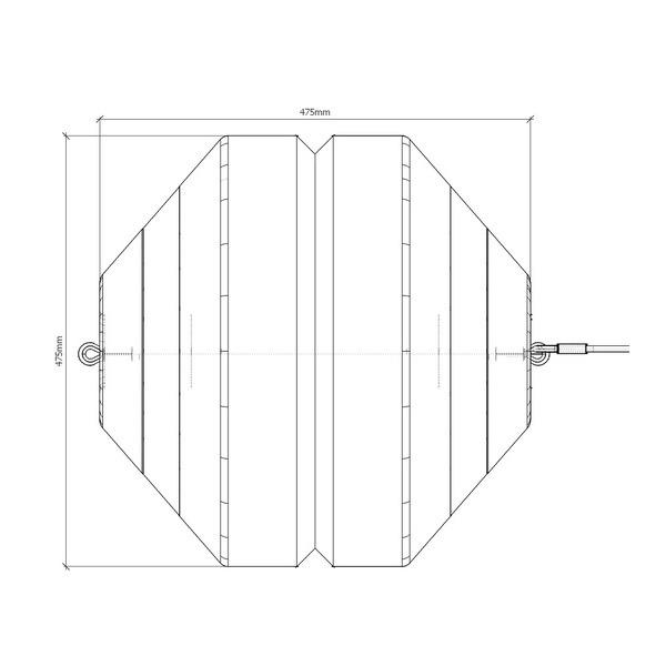 Мобильная оградительная тросовая система (тросовые разделители)