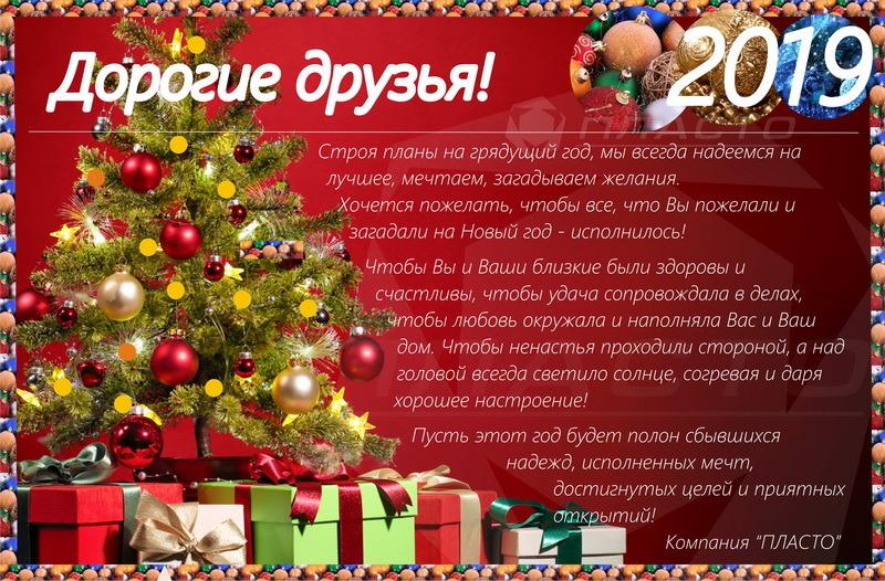 Новогоднее поздравление 2019