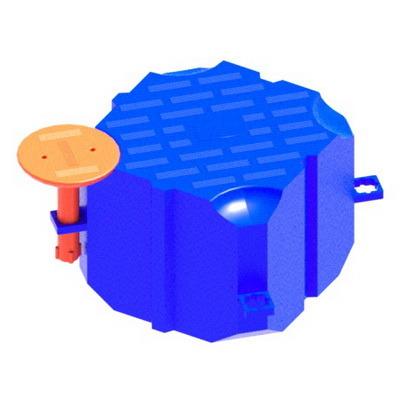 пластиковый понтон, модуль плавучести, SF II