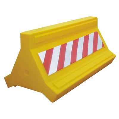пластиковый парковочный дорожный барьер, водоналивной парковочный барьер, дорожное ограждение, пластиковый парковочный отбойник