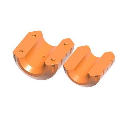 Поплавок PF500 для пульпропровода, поплавки с заполнением ППУ для трубопроводов, плавучие трубопроводы