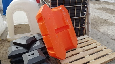 Понтоны пластиковые, модули плавучести, поплавки для трубопроводов, причалы