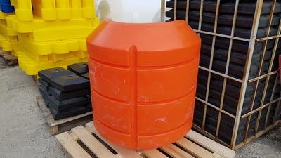 Поплавок для пульпропровода, поплавки с заполнением ППУ для трубопроводов, плавучие трубопроводы PF330