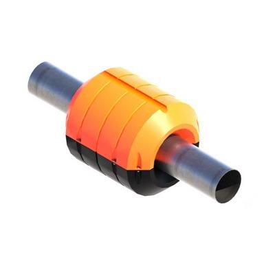 Поплавок для пульпропровода, поплавки с заполнением ППУ для трубопроводов, плавучие трубопроводы, PF350