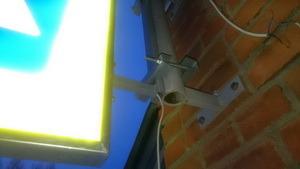Светодиодный двусторонний знак с внутренней подсветкой 5.19.1/5.19.2 Пешеходный переход