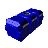 q800 емкость вертикальная пластиковая