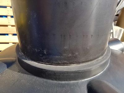 Удлиняющая универсальная резьбовая горловина 600мм