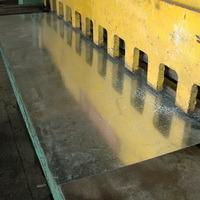 оборудование для производства дорожных знаков, продажа оборудования, Гильотина для раскроя металла
