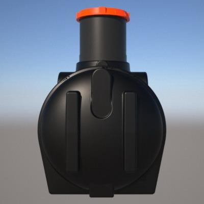 емкость под септик s3000 с удлиняющей горловиной