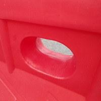 Дорожный пластиковый барьер (водоналивной блок) Стрела 1.5м
