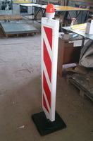 Дорожное ограждение Солдатик на резиновой или пластиковой подставке, рекламный солдатик, вертикальная разметка