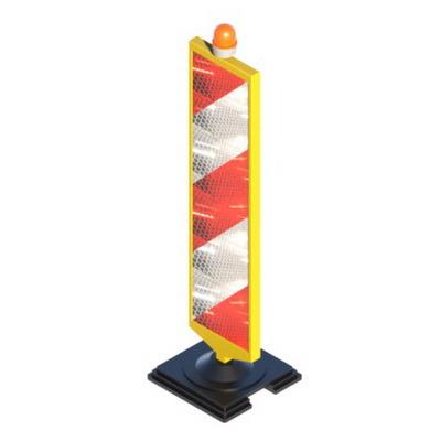 Солдатик дорожный пластиковый, дорожная пластина, вертикальная разметка