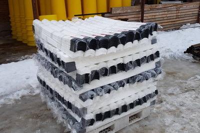 Пластиковый дорожный сигнальный столбик С1 ГОСТ Р 32843, 50970 С1О С1П