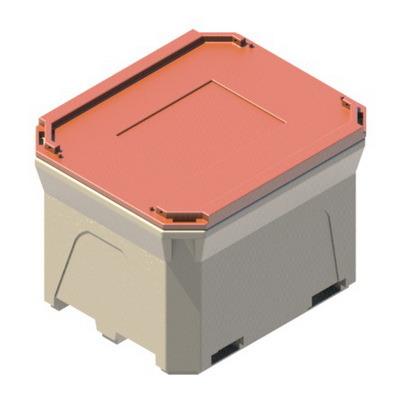 Термоконтейнер Т660 с крышкой