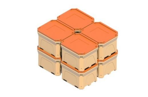 термоконтейнеры, изотермические пластиковые контейнеры