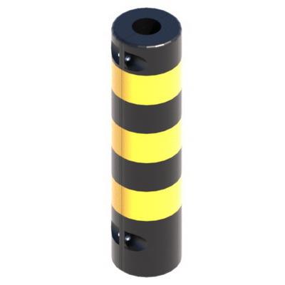 Тумба защитная 800х200мм, защита колонн, демпфер 83х200мм