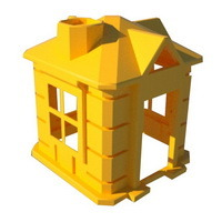 детский пластиковый игровой домик, товары для детей, пластиковый детский домик