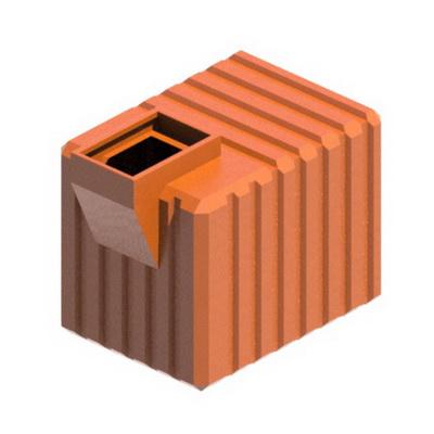Погреб пластиковый U2500 универсальная подземная емкость пластиковый подвал