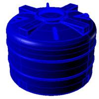 V750 емкость вертикальная пластиковая
