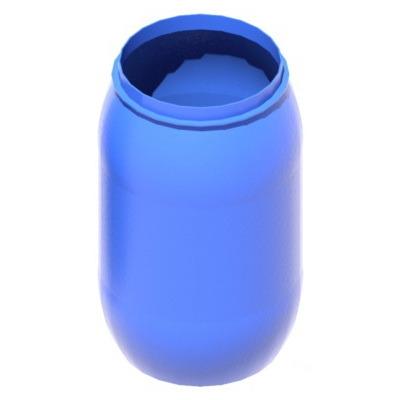 Емкость пластиковая вертикальная V227 (евробочка)