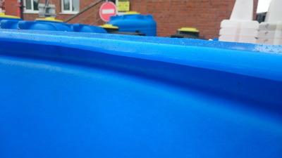 бассейн пластиковый, пластиковая емкость, бак для воды, бочка для дизельного топлива