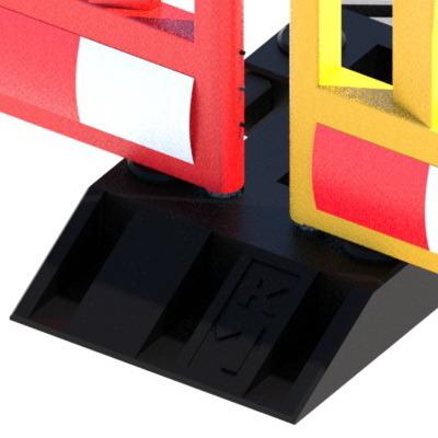 Ограждение Vario (передвижное пластиковое ограждение штакетного типа)