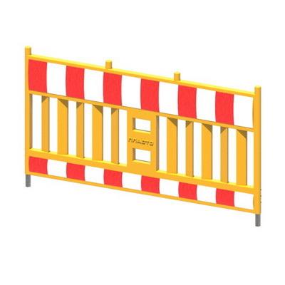 Ограждение Vario (передвижное пластиковое ограждение штакетного типа Варио), барьер для ограждения мест ремонта