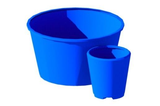 бассейны и купели, пластиковые открытые емкости