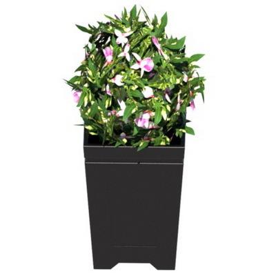 пластиковый уличный вазон для цветов, горшок для цветов, уличный вазон для крупногабаритных растений