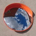 Пластиковые обзорные сферические зеркала Д=600мм, Д=800мм, Д=1000мм на специальных условиях